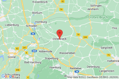 Karte Osterwieck