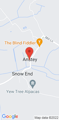 Map showing the location of the East Herts Anstey [Closed] monitoring site