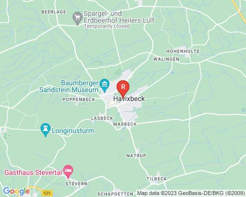 Google Karte von Rohrreinigung Harvixbeck