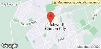 Map of Garden City Florist at 6 Arena Parade, Letchworth Garden City, Hertfordshire SG6 3BY