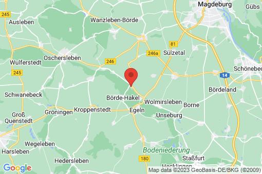 Karte Etgersleben