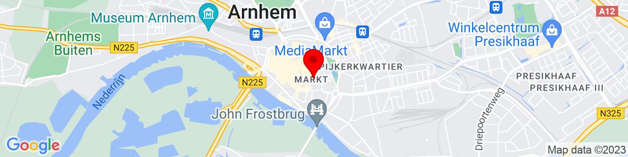 Google Map of 51.98, 5.91111