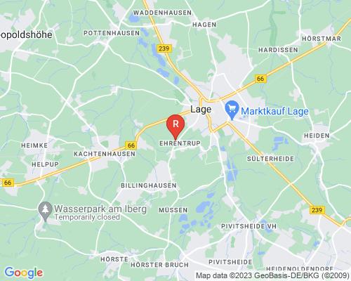 Google Karte von Rohrreinigung Lage