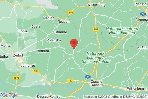 Karte Jeber-Bergfrieden