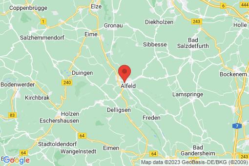 Karte Alfeld (Leine)