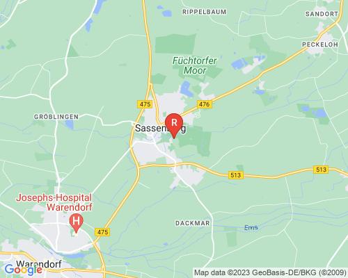 Google Karte von Rohrreinigung Sassenberg
