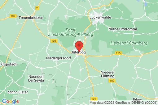 Karte Jüterbog