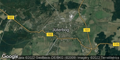 Google Map of Jüterbog