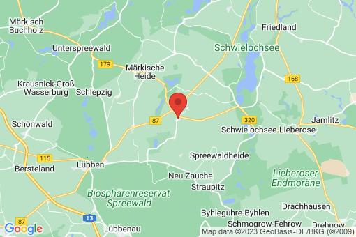 Karte Groß Leine