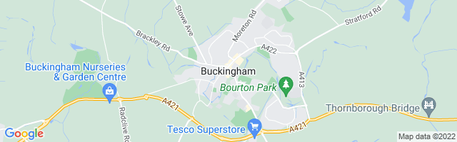 Map Of Buckingham