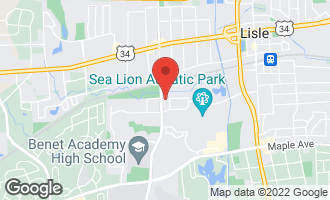 Map of 5100 Academy Drive #1 LISLE, IL 60532