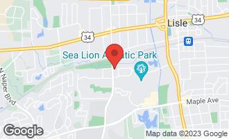 Map of 5100 Academy Drive #100 LISLE, IL 60532