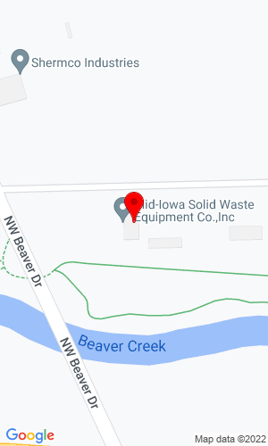 Google Map of Mid-Iowa 5105 NW Beaver Drive, Johnston, IA, 50131