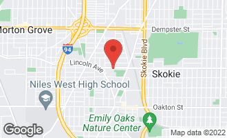 Map of 5105 Main Street SKOKIE, IL 60077