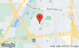 Map of 511 Cross Road GURNEE, IL 60031