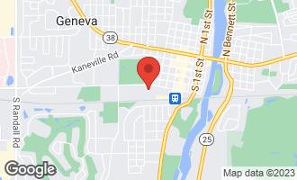 Map of 511 South 8th Street GENEVA, IL 60134