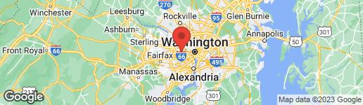Map of 5112 LITTLE FALLS ROAD ARLINGTON, VA 22207