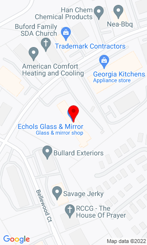 Google Map of Southeastern Equipment Company 5115 Bristol Industrial Way, Buford, GA, 30518