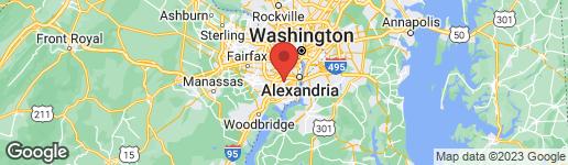 Map of 5115 Franconia Road Alexandria, VA 22310