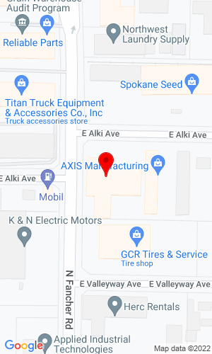 Google Map of Norlift 512 North Fancher , Spokane, WA, 99211