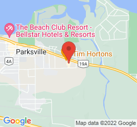 Google Map of 512+East+Island+Highway%2CParksville%2CBritish+Columbia+V9P+2G7