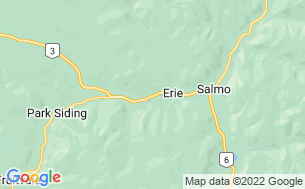 Map of Pine Springs Cabins & RV Park