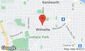 Map of 513 Ridge Road WILMETTE, IL 60091