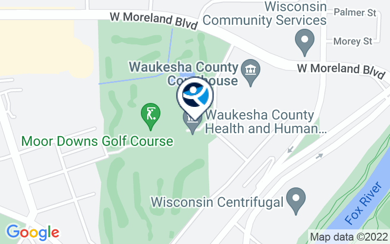 Waukesha County Public Health Location and Directions
