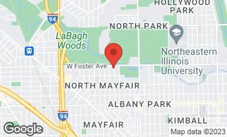 Map of 5142 North Tripp Avenue CHICAGO, IL 60630