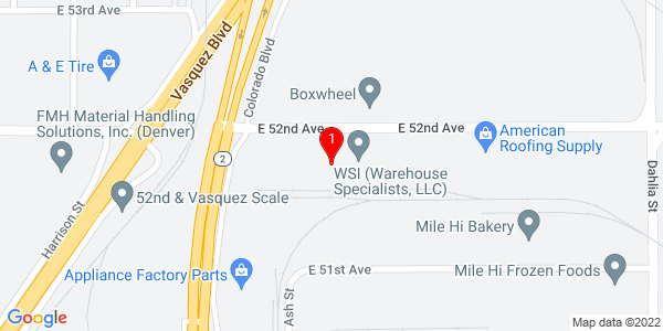 Google Map of 5150 Colorado Boulevard, Denver CO 80216