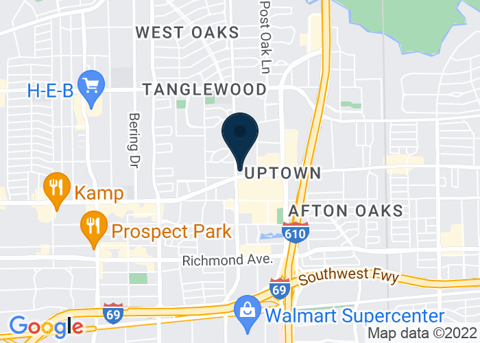Map of 5150 Westheimer Rd., Houston, TX 77056, United States