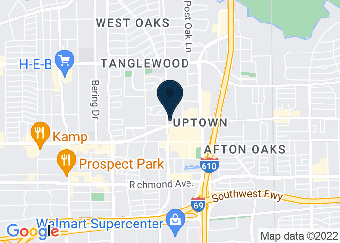 Map of 5150 Westheimer Road, Houston, TX 77056, United States