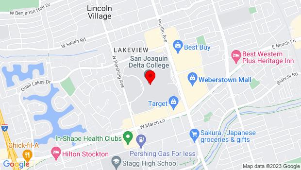 Google Map of 5151 Pacific Avenue, Stockton, CA 95207