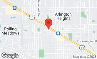 Map of 516 West Eastman Street 2B ARLINGTON HEIGHTS, IL 60005