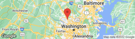 Map of 516 WINDING ROSE DRIVE ROCKVILLE, MD 20850