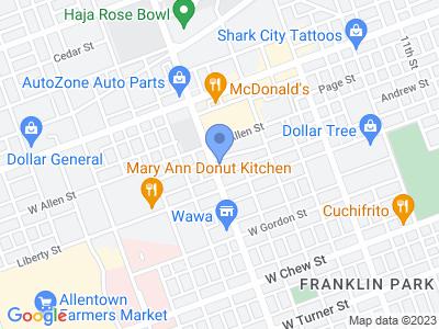 517 N 15th St, Allentown, PA 18102, USA