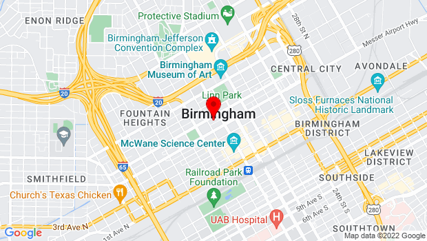 Google Map of 518 19th Street North, Birmingham, AL 35203