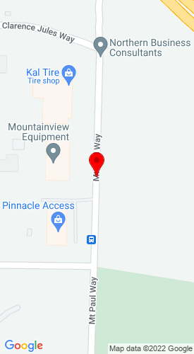 Google Map of Douglas Lake Equipment 519 Mt Paul Way, Kamloops, British Columbia, Canada, V2H 1A9