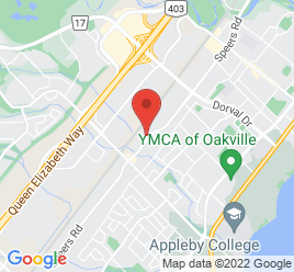 Google Map of 519+Speers+Road%2COakville%2COntario+L6K+2G4