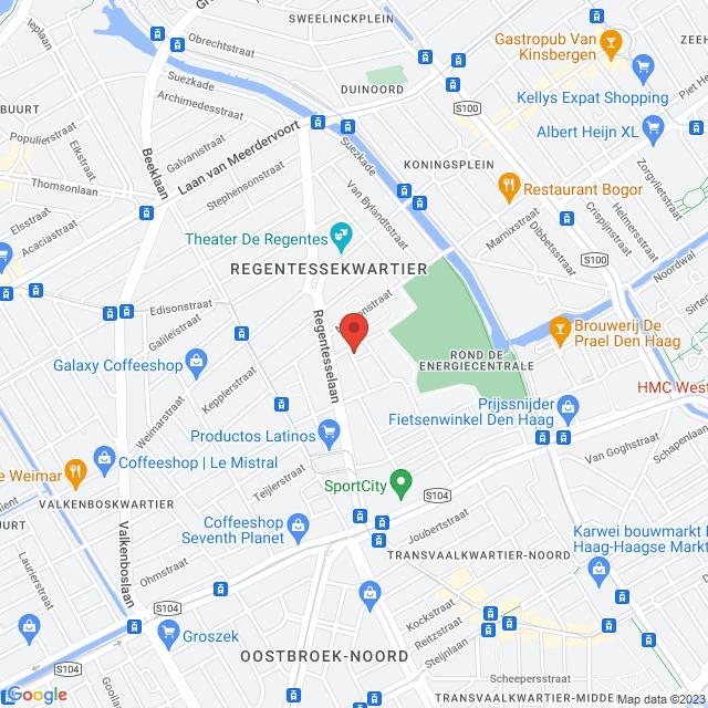 Van Marumstraat 24, 24-A, 24-B & Cartesiusdwarsstraat 2