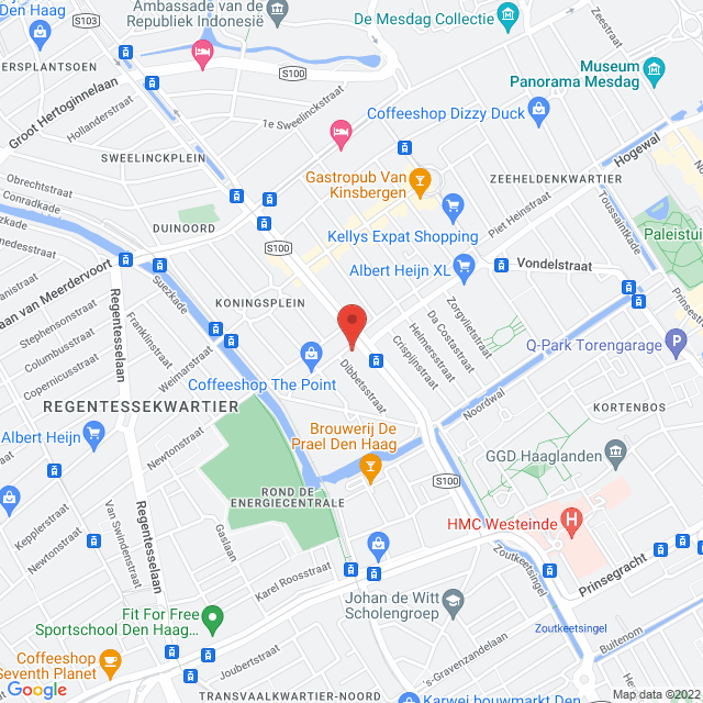 Koningin Emmakade 59, 59A, 59B en Marnixstraat 2