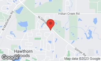 Map of 52 Carlisle Road HAWTHORN WOODS, IL 60047