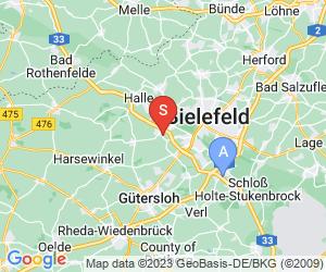 Karte für Dirtpark Steinhagen
