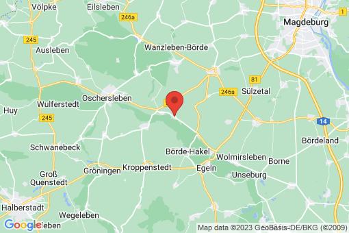 Karte Groß Germersleben