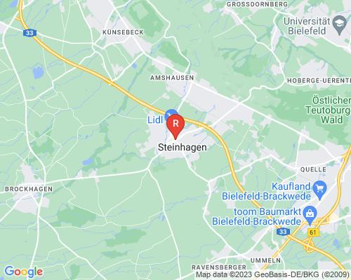Google Karte von Rohrreinigung Steinhagen