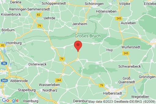 Karte Dardesheim