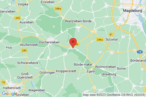 Karte Klein Oschersleben