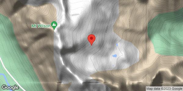 Mt Wilson - close call