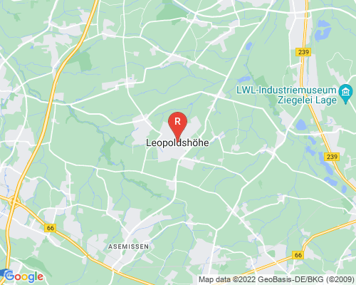 Google Karte von Rohrreinigung Leopoldshöhe