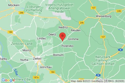 Karte Dobritz